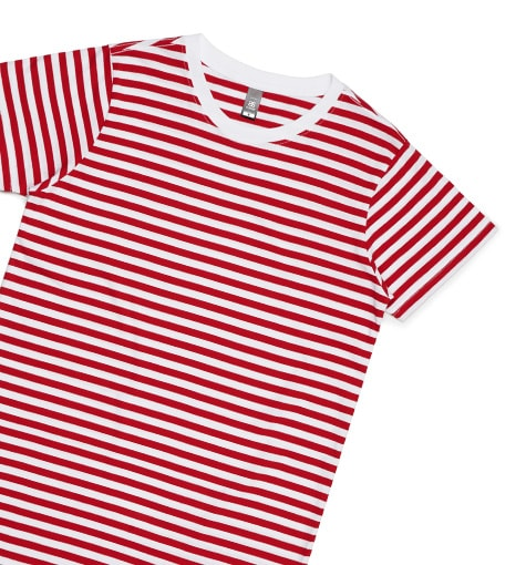 Striped T-Shirt Printing NZ