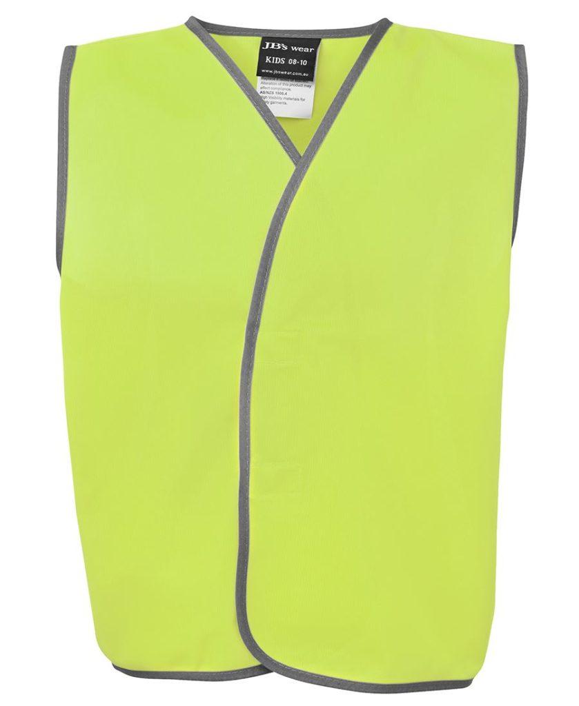 Basic Kids vest printing lime
