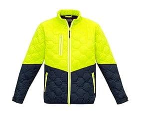Hi Vis Puffer Jacket