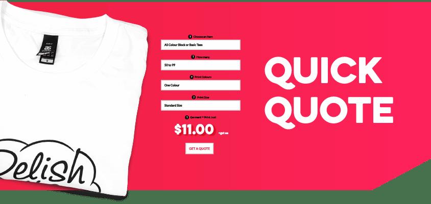 Custom Branded Quick Quote